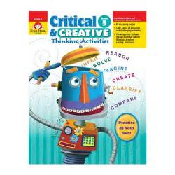 Evan-Moor Critical and Creative Thinking Activities, Grade